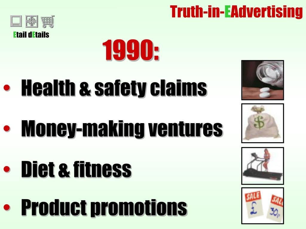 Money-making ventures