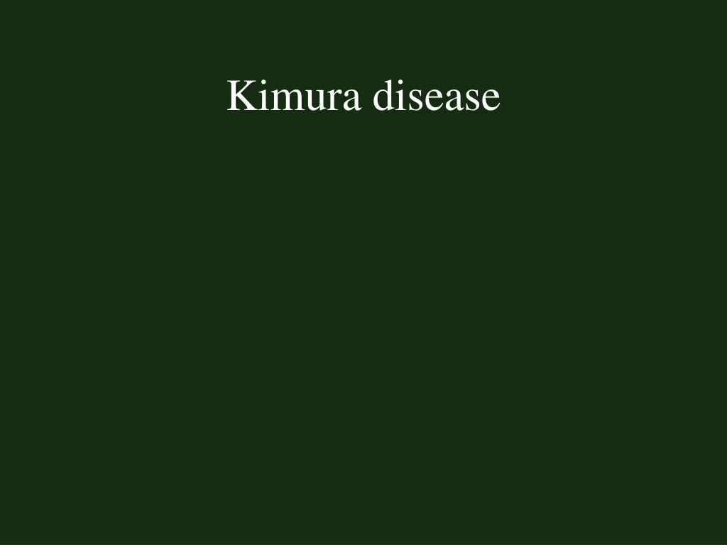 Kimura disease
