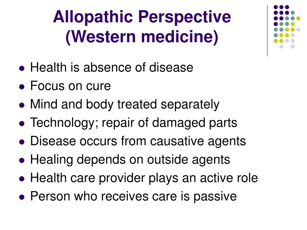 Allopathic Perspective