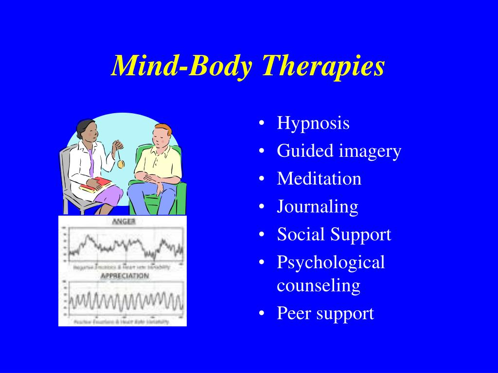 Mind-Body Therapies