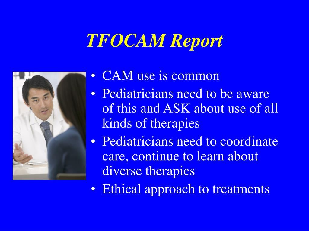 TFOCAM Report