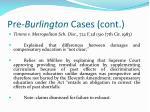 pre burlington cases cont18