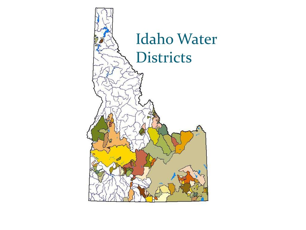 Idaho Water Districts