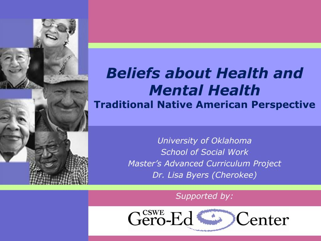 Beliefs about Health and Mental Health