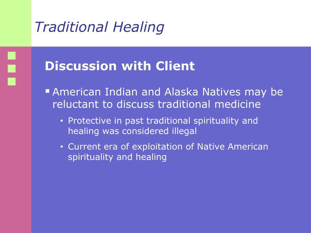 Traditional Healing