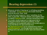 bearing depression 1