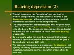 bearing depression 2