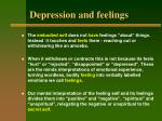 depression and feelings