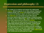 depression and philosophy 2