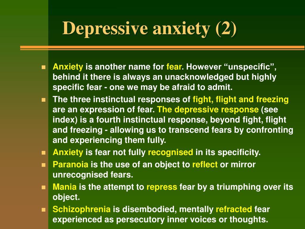Depressive anxiety (2)