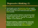 depressive thinking 1