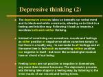 depressive thinking 2