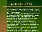 the bio medical view