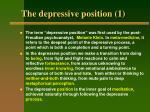 the depressive position 1