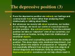 the depressive position 3