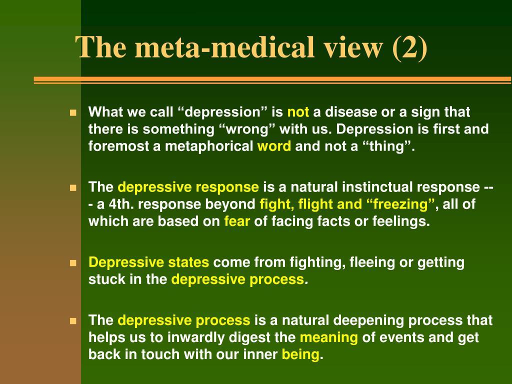 The meta-medical view (2)