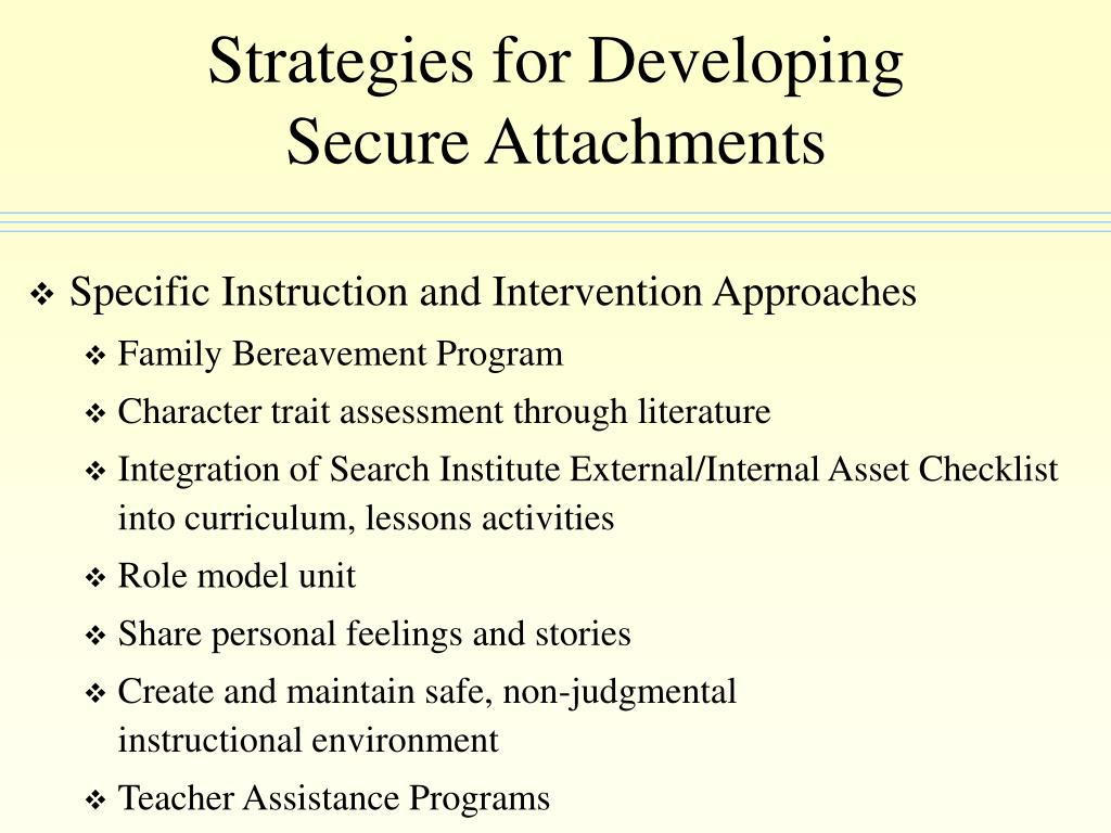 Strategies for Developing