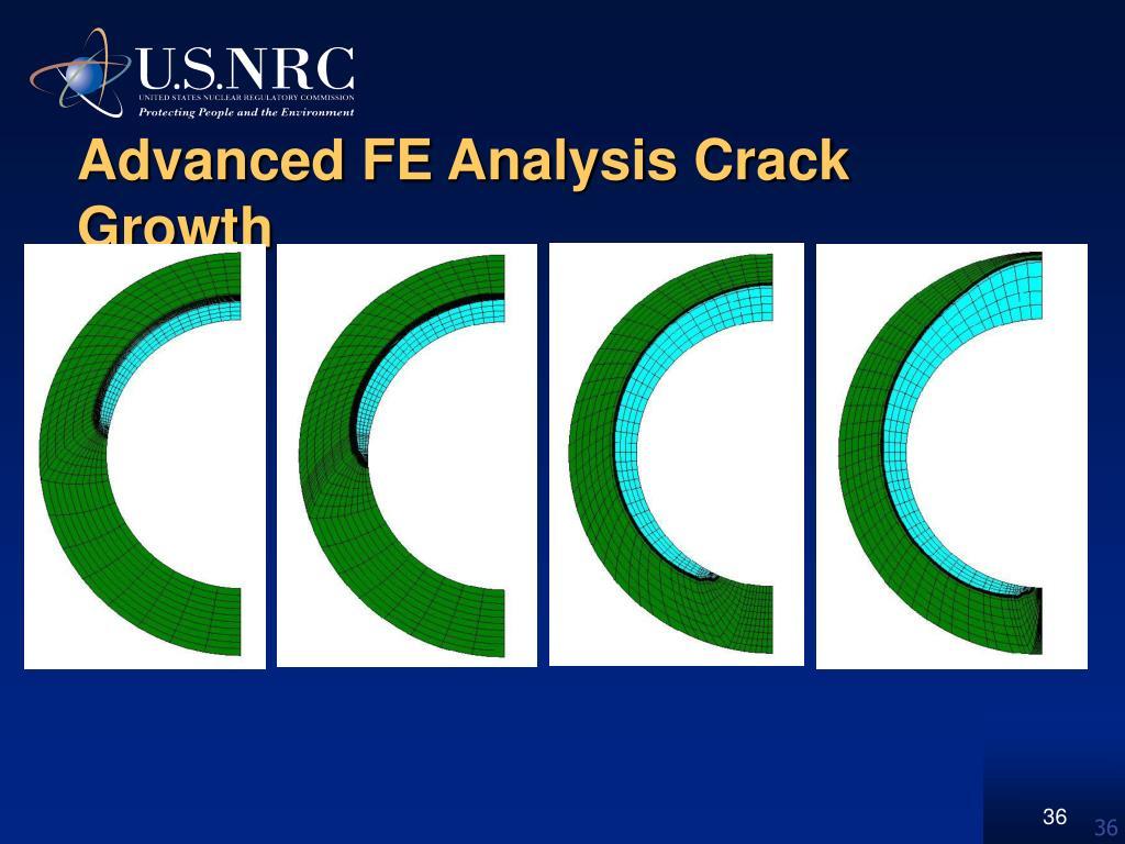 Advanced FE Analysis Crack Growth