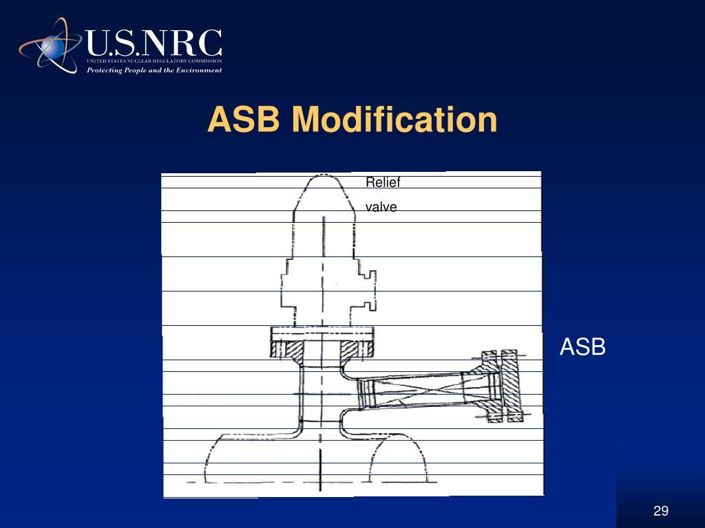 ASB Modification
