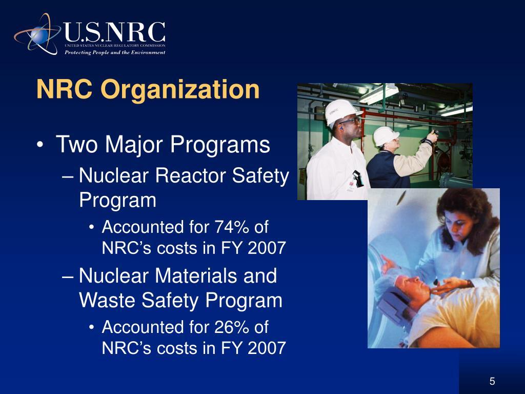 NRC Organization