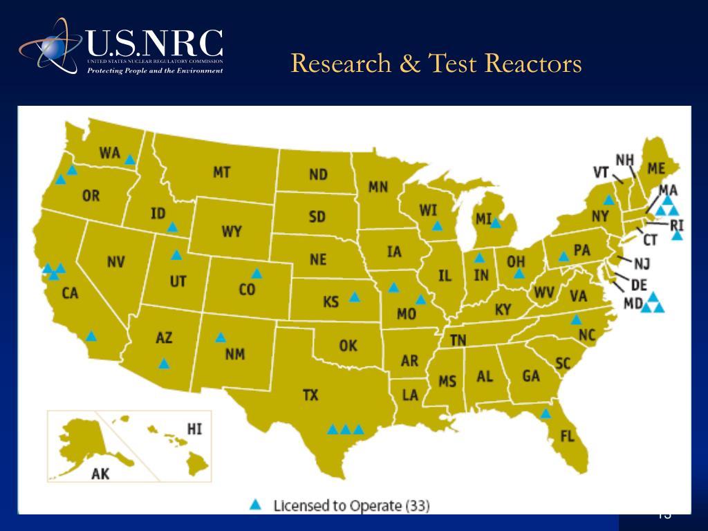 Research & Test Reactors