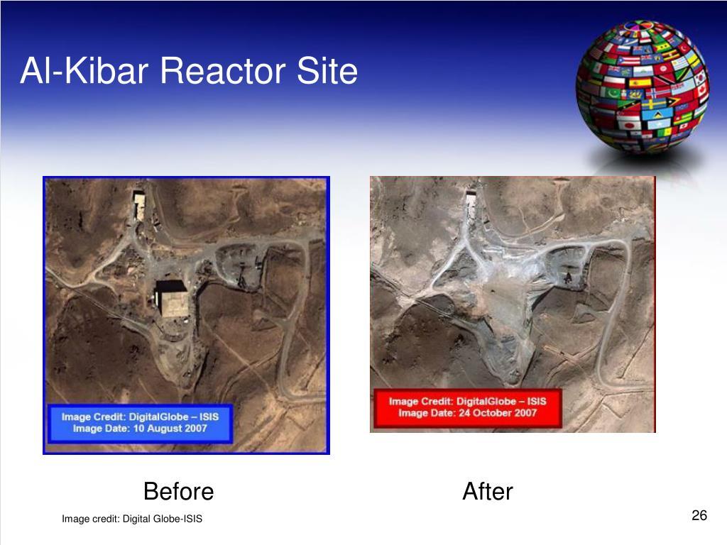 Al-Kibar Reactor Site