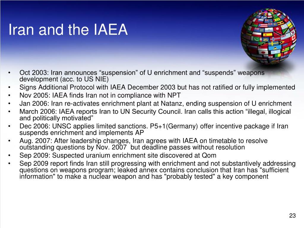 Iran and the IAEA