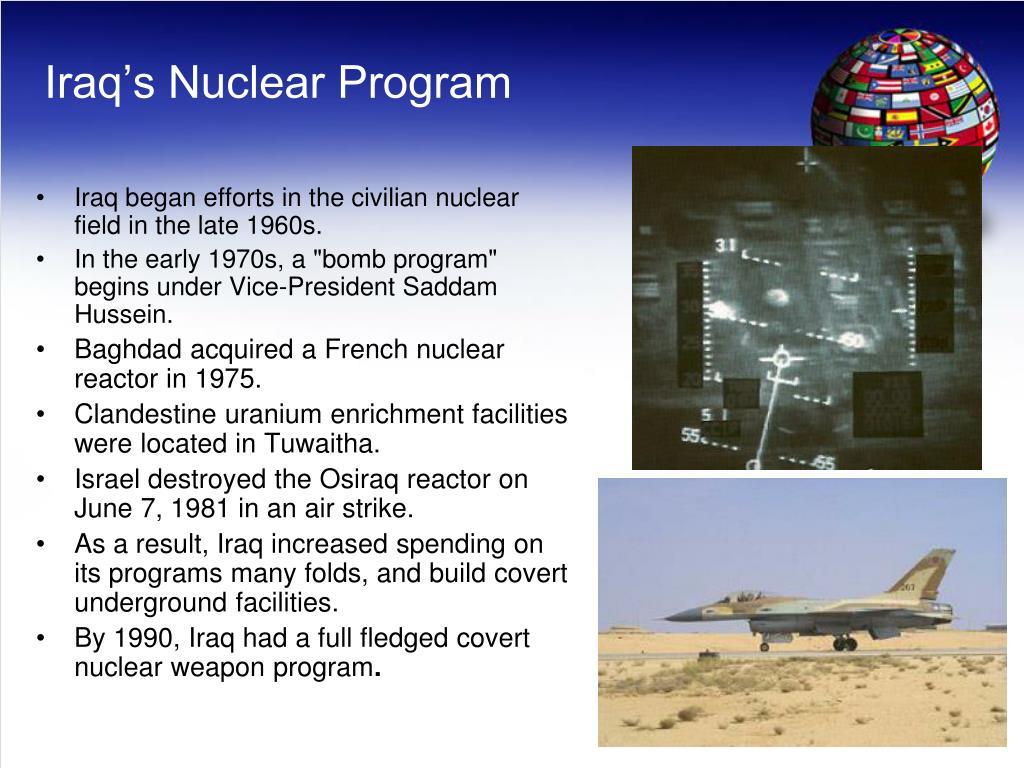 Iraq's Nuclear Program