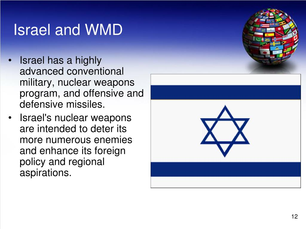 Israel and WMD