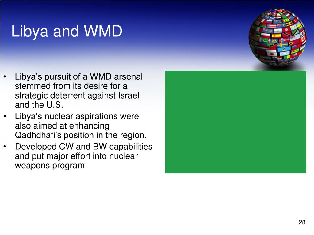 Libya and WMD