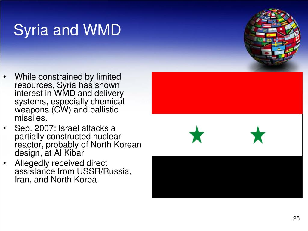 Syria and WMD