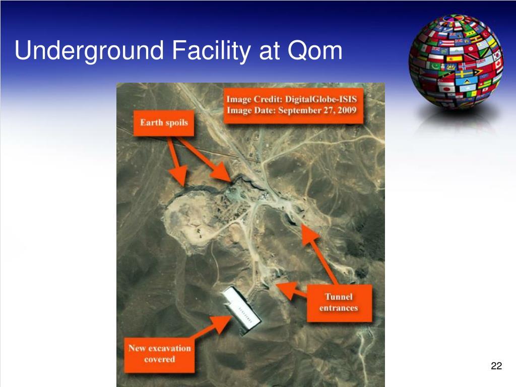 Underground Facility at Qom