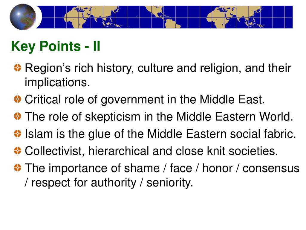 Key Points - II