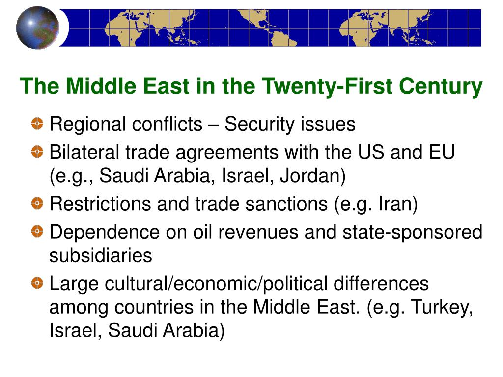 The Middle East in the Twenty-First Century