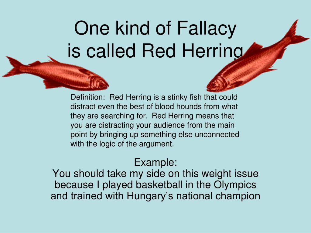 One kind of Fallacy
