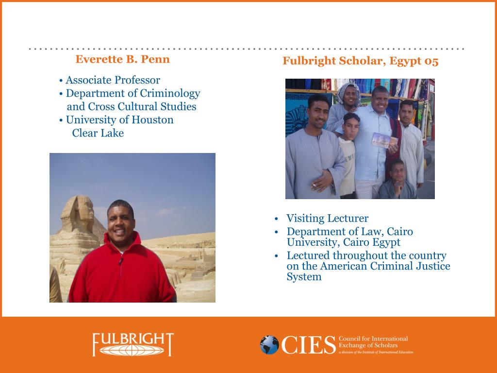 Fulbright Scholar, Egypt 05