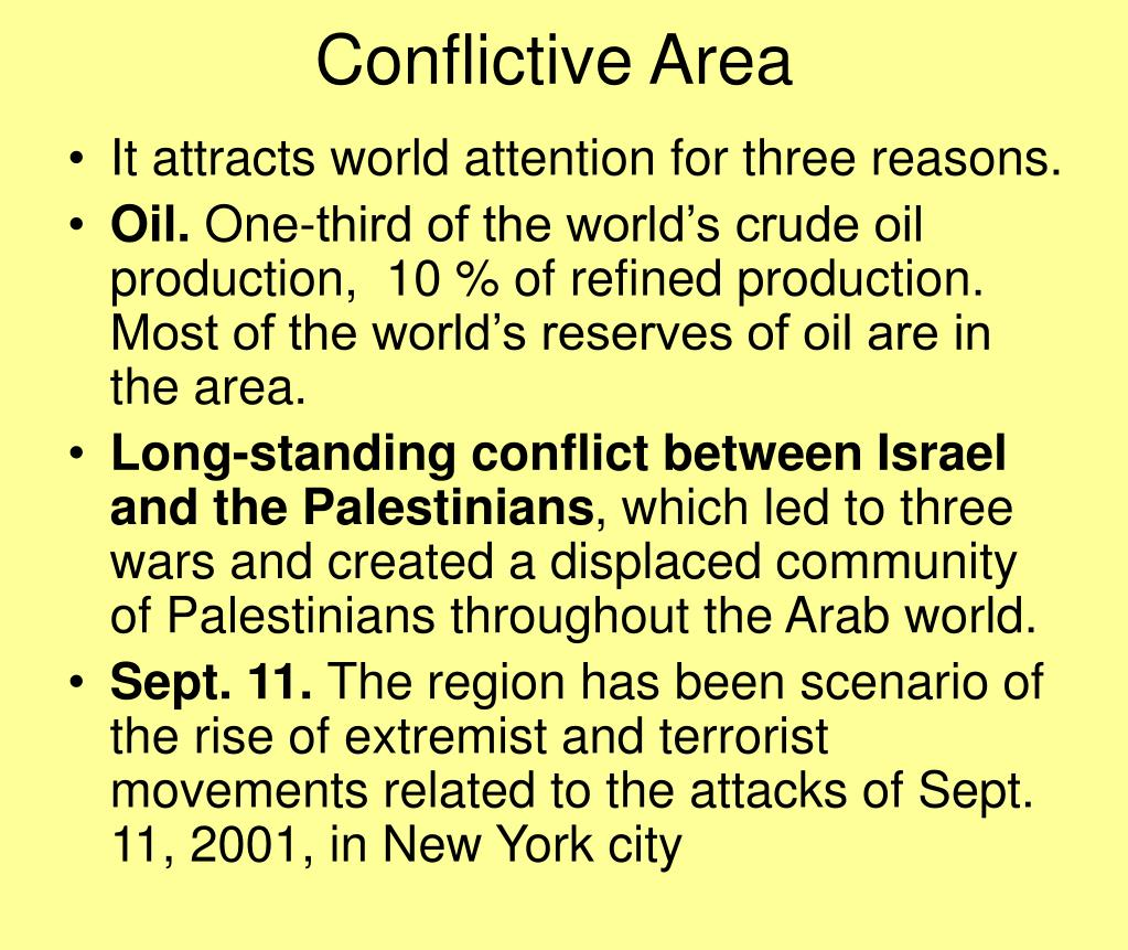 Conflictive Area