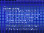 754 e metal decking 1 hoisting landing placing decking bundles