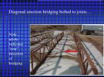 note arrow indicates row direction of bridging