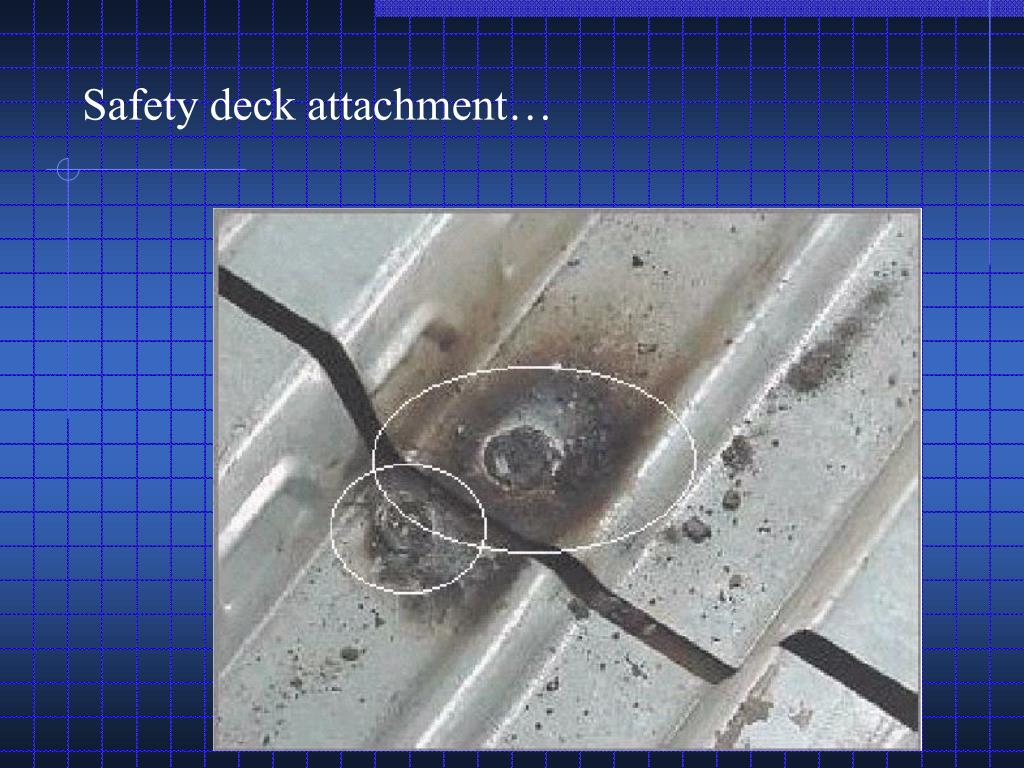 Safety deck attachment…