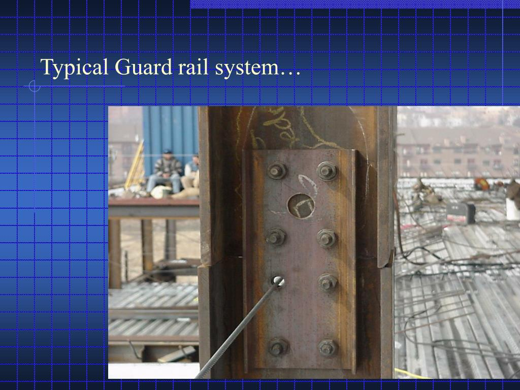 Typical Guard rail system…