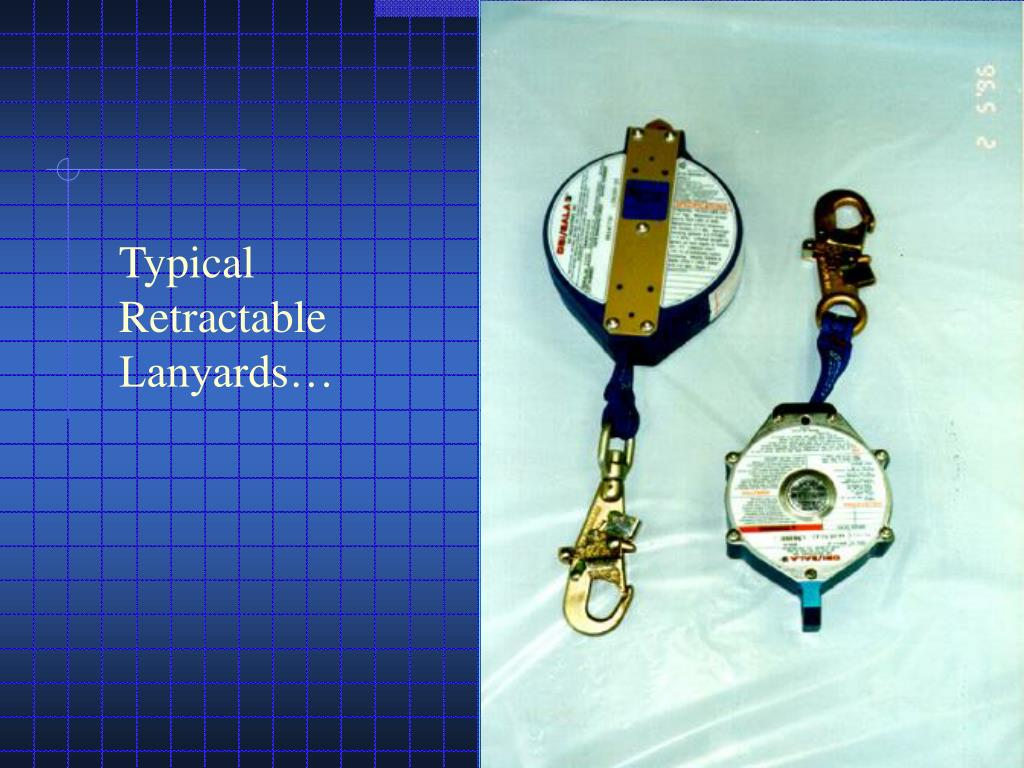 Typical Retractable Lanyards…