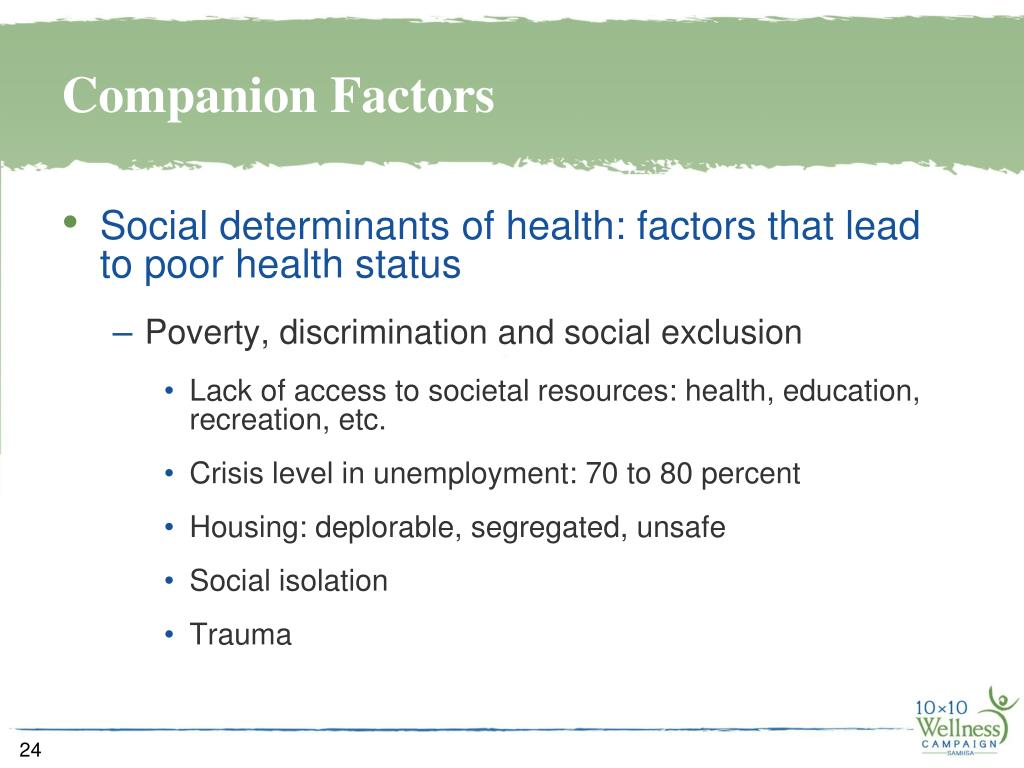 Companion Factors