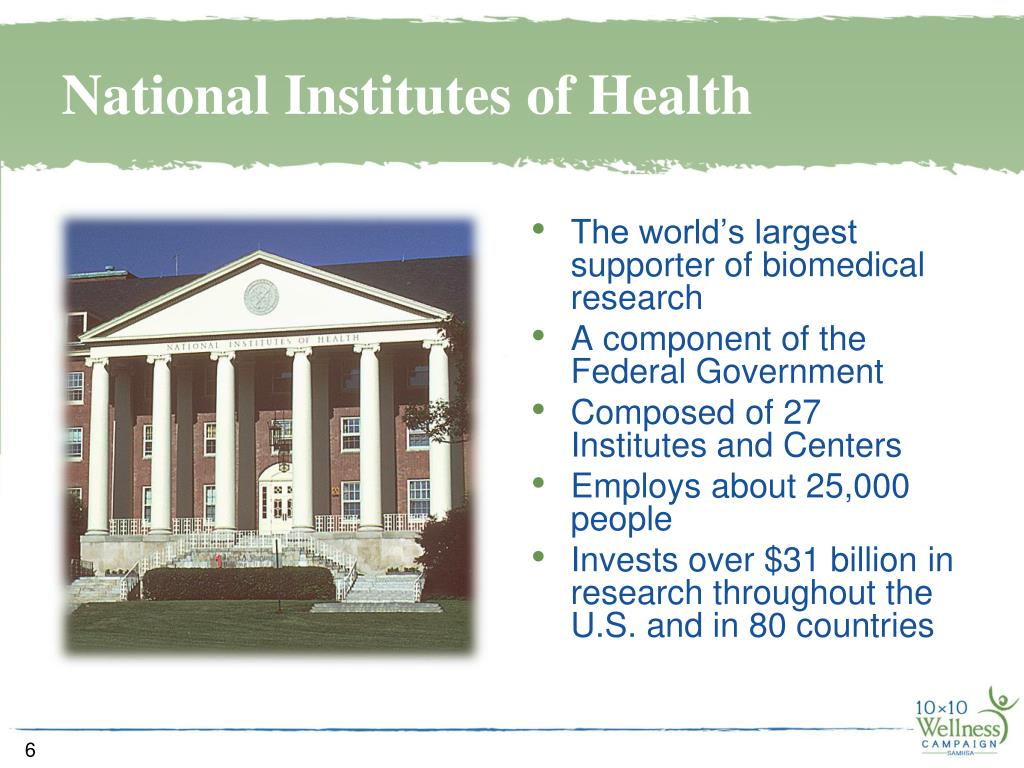 The world's largest supporter of biomedical research