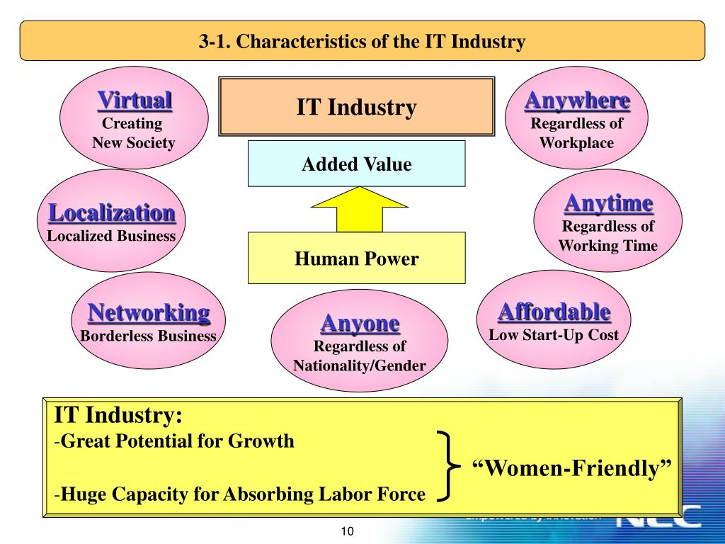3-1. Characteristics of the IT Industry