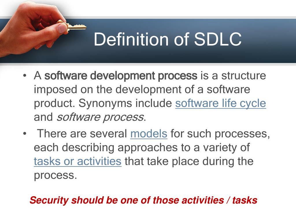 Definition of SDLC