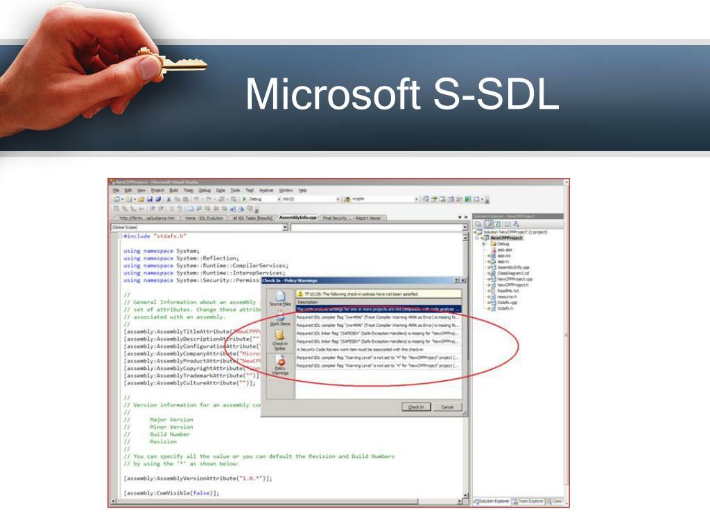 Microsoft S-SDL