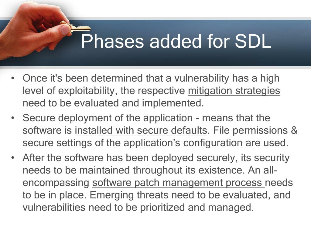 Phases added for SDL