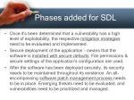 phases added for sdl