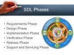 sdl phases